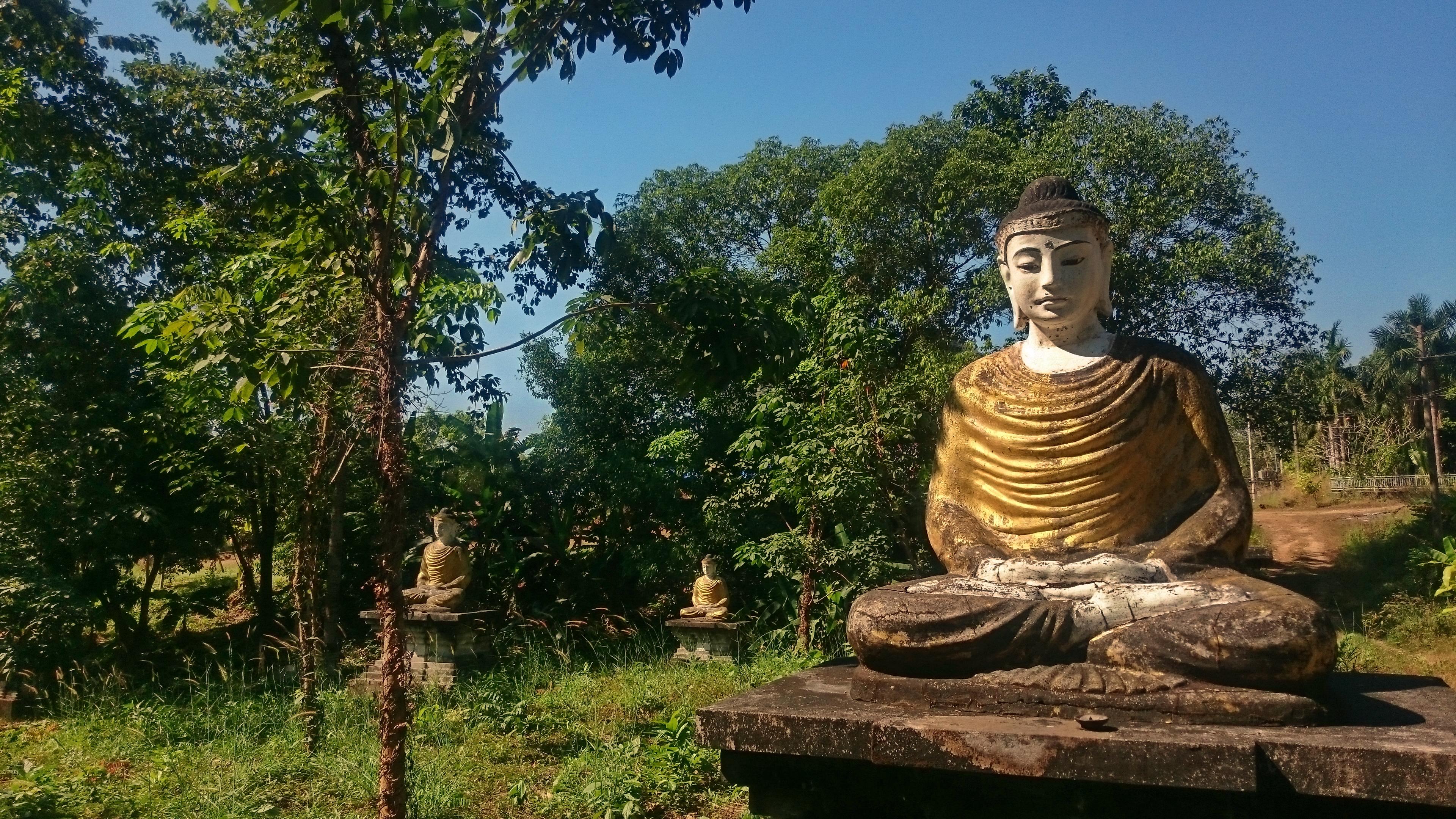 Buddha im garten - Buddha fur garten ...